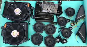 BMW 5 SERIES G30 M5 F90 HARMAN KARDON COMPLETE SPEAKERS TWEETERS AMPLIFIER SET