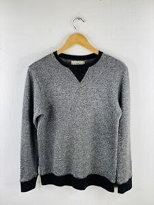 Forestland Cotton On Crew Men's Jumper Size S Grey Long Sleeve  Casual Pullover