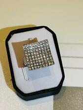 Luxus Diamant Brillant Ring 585 Weißgold ca 1ct !!! 9,1 Gramm mit Zertifikat