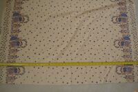 "By-the-Half-Yard M6385 44/"" Balson Erlanger Yellow on Orange Quilter/'s Cotton"