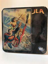 DC Comics JLA Justice League America 500 piece Puzzle Sealed New Superman Tin