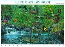UNITED STATES MINT SHEET PACIFIC COAST RAIN FOREST