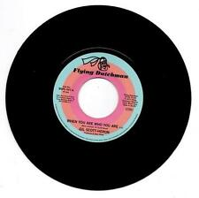 """GIL SCOTT-HERON When You Are Who You Are NEW FUNK 45 (BGP) 7"""" VINYL - 70s SOUL"""