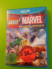 Lego Marvel: Super Heroes Nintendo wiiug conf. orig. compl. RACCOLTA