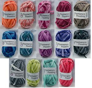 Knitting yarn wool 'Flamenco Floating' scarf yarn - Buy One, Get One Free