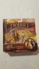 2012 The Hobbit Bilbo Baggins & Gollum Figure 2 Pack New
