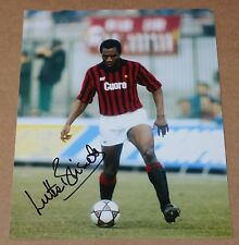 """Luther Blissett AC MILAN & England Hand Signed Autograph 10"""" X 8"""" Photo + COA"""