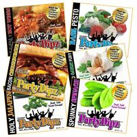 Partydipz Gourmet Dip Mixes Variety Pak- (6 Delicious Packets!) (FREE SHIPPING)