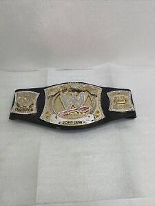 WWE Championship Belt Replica Spinner Adult Size 2010 FIGURES JOHN CENA