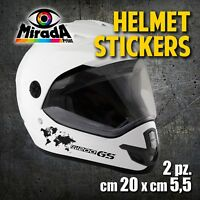 Adesivi / Stickers CASCO MOTO HELMET ENDURO BMW  R1200 GS ADVENTURE MOTORBIKE