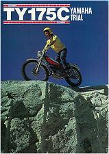 YAMAHA Brochure TY175 TY175C 1976 Classic Trials Sales Catalog Catalogue REPRO