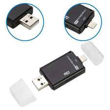 USB Flash Drive SD TF Card Reader For iPhone X 8 7 6 5 s Samsung iPad Air/ Mini