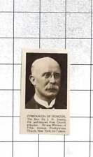 1922 Rev J H Jowett, Free Church Preacher