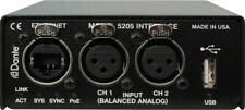 Studio Technologies Model 5204 - Dual Line Input to Dante  Used only in showroom