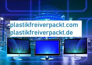 Domain zu verkaufen  plastikfreiverpackt.de und plastikfreiverpackt.com