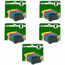 20 Ink Cartridges for Epson WF-3540DTWF WF-7015 WF-7515 non-OEM E1291-4