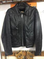 vtg Schott Leather Motorcycle jacket sz 42