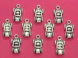 Tibetan Silver Car Charms 10 per pack