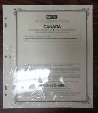 CANADA 2018 SCOTT Specialty stamp album collection supplement NEW Latest 240S018