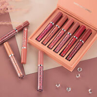 6Pcs Matte Lipstick Set Waterproof Long Lasting Makeup Lipstick Cosmetic Tool