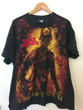 Black Sabbath T Shirt Size XL Embroidered Band Tee Ozzy Osbourne Metal