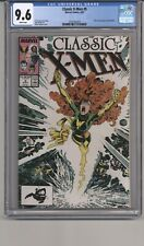 CLASSIC XMEN #9 CGC 9.6 WPGS BOLTON PINUP,  ART ADAMS COVER, CLAREMONT STRY 1987