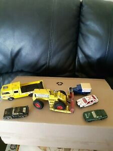 joblot of old toy cars,