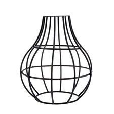 Brass Vintage Lampshade Balloon Industrial Light Frame Lamp Cage Guard Bar Cafes