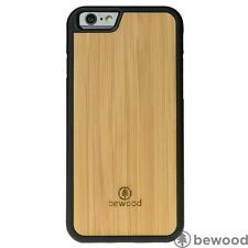 Apple iPhone 6 6S Bamboo Vibe Natural Wood Phone Cover Case Premium Bewood Luxur