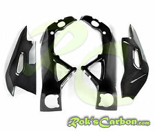 Carbon protection set ( frame + swingarm covers ) Aprilia RSV4 RF 2015 - 2018