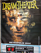 DREAM THEATER poster manifesto 150 x 100 cm ITALIA tour 2000 METROPOLIS
