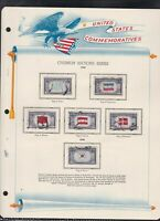 united states commemoratives overrun nations series 1943/44 stamps pageref 18251
