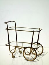 Serving trolley italian bar cart 50s design midcentury cesare lacca