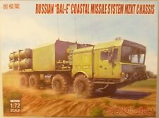 1/72 Russian BAL-E Coastal Missile System MZKT Chassis W/Kh35 w/ Cruise Missiles