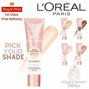L'Oréal Skin Paradise Tinted Water Cream Moisturiser SPF20 30ml BRAND NEW Sealed