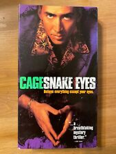 Snake Eyes (Vhs, 1999) Gary Sinise, Nicolas Cage *Very Good condition*