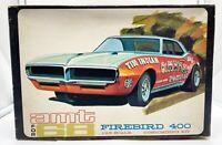 AMT 1968 Pontiac Firebird Original Issue Slot Promo Display Nice 1/25th BOX ONLY