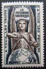 FRANCE-1954-Le système métrique N°998 neuf ** luxe
