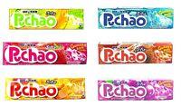 UHA Puccho Puchao Chewy Candy 1.76oz Cola Ramune Soda Grape Melon Mango Japan