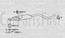 EXDN3102 Centro silenziatore di scarico +3Yr GARANZIA
