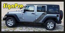 NewHood Decal super swamper pattern fits Jeep F150 Silverado Tundra Tire tracks
