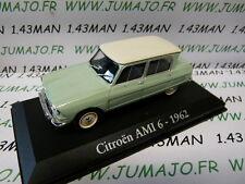 car 1/43 RBA Italy IXO : CITROEN AMI 6 1962 green pale