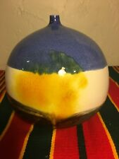 mid century modern weed pot signed studio pottery ceramic Bud