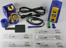 HAKKO FX951-66 DIGITAL SOLDERING STATION W/ 5 TIPS IRON BUNDLE