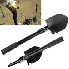 Metal Detector Digger Outdoor Digging Tool Gold Finder Folding Shovel Camp Spade