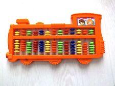Chinois en plastique orange train Abacus Calculatrice enfants mathématiques w usage a6