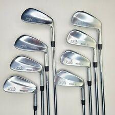 KZG ZO Forged Golf Iron Set 3-PW | Right Hand Stiff Flex Steel