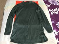 Nike AA1589 382 DRI FIT Pro Fitted Utility Dry Tech Sport Top 1/4 Zip PULLOVER