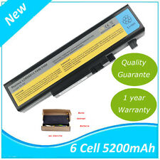 Batterie Pour Lenovo IdeaPad Y460N Y460P Y560P B560 B560A V560 57Y6440 5200mAh