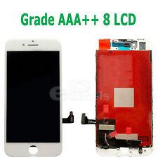 """IPhone 8 A1863 4.7"""" Remplacement écran Tactile Numériseur Verre écran LCD Assemblée Blanc"""